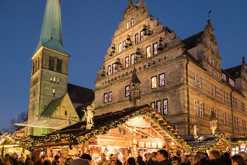 Hamelner Weihnachtsmarkt Vom 27 11 Bis 23 12 Und 27 12
